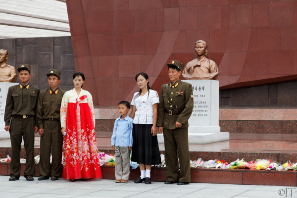 North Korea. Revolutionary Martiyr's Cemetery