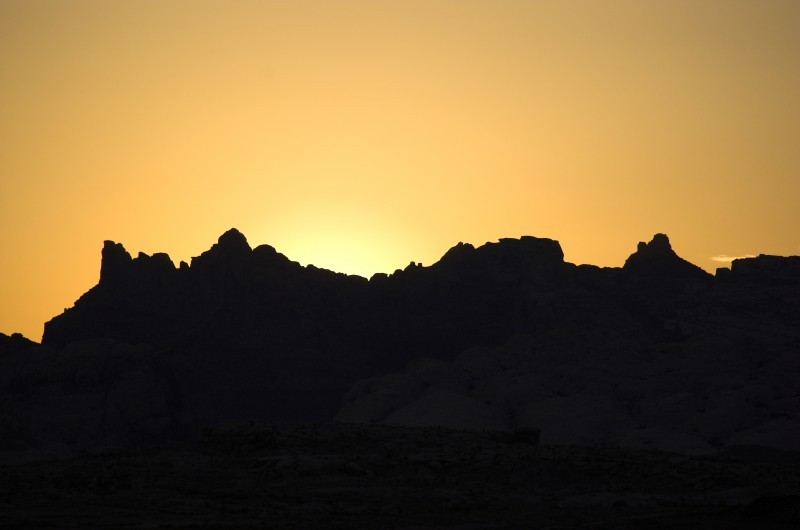 powell sunset