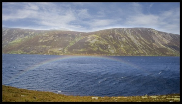 Loch Muick rainbow