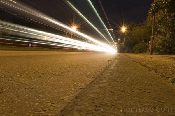 light trails#1