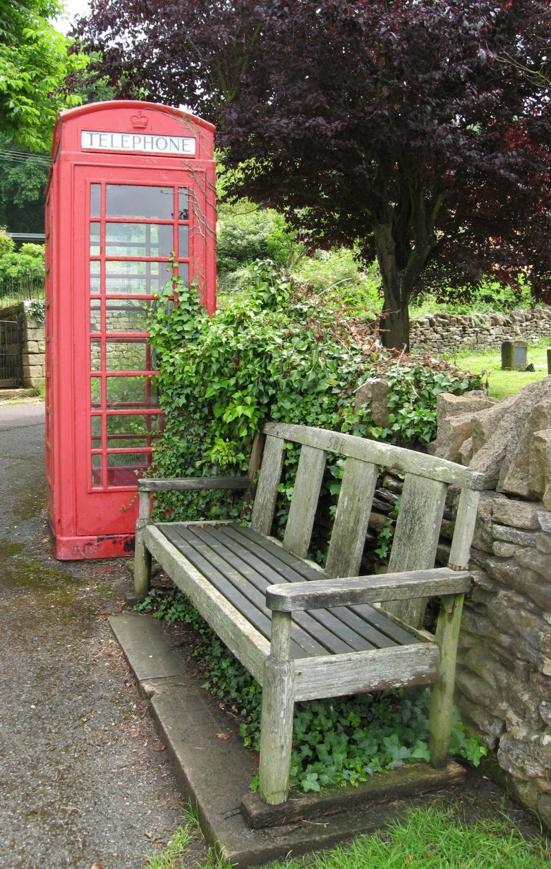 British red phonebox
