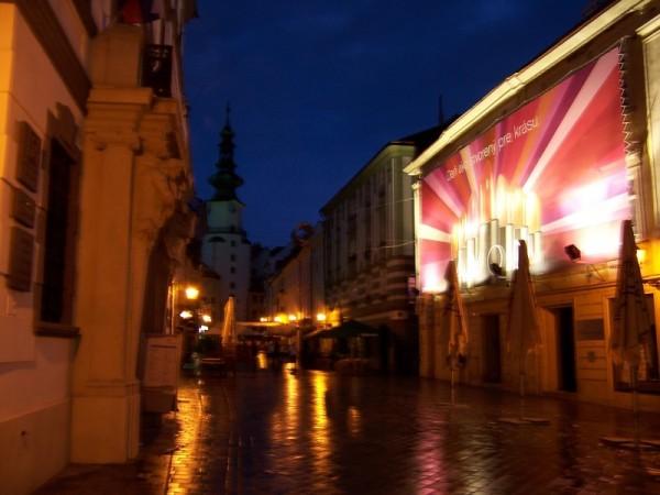 Michalská by night