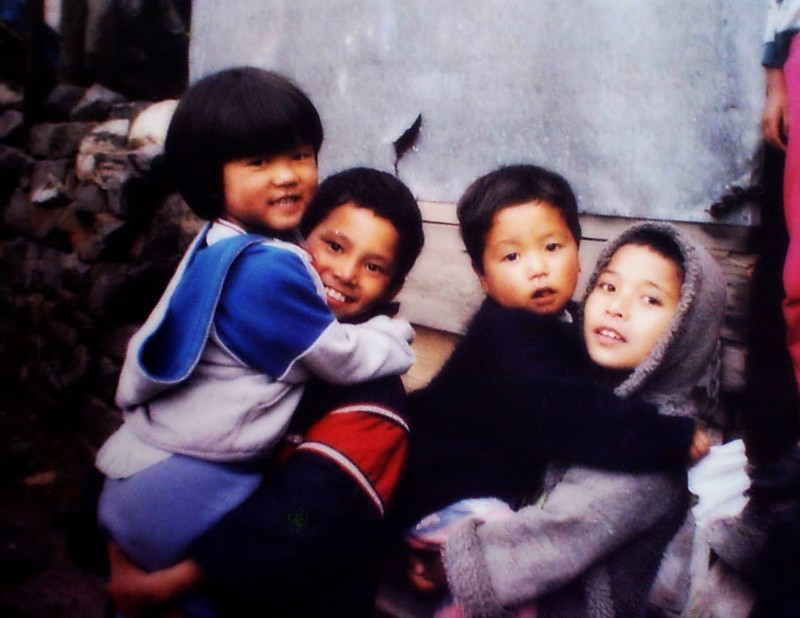 Children from north