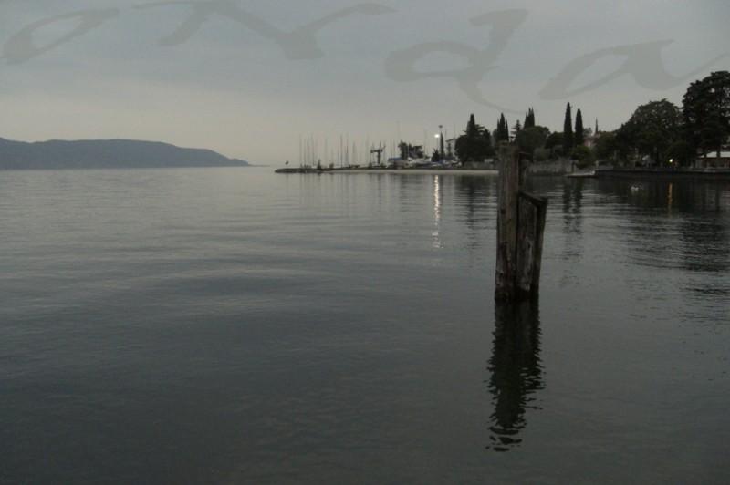 garda lake evening