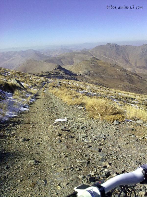 Mountain biking له گه رده نه ی خان کیوی وه زه نه
