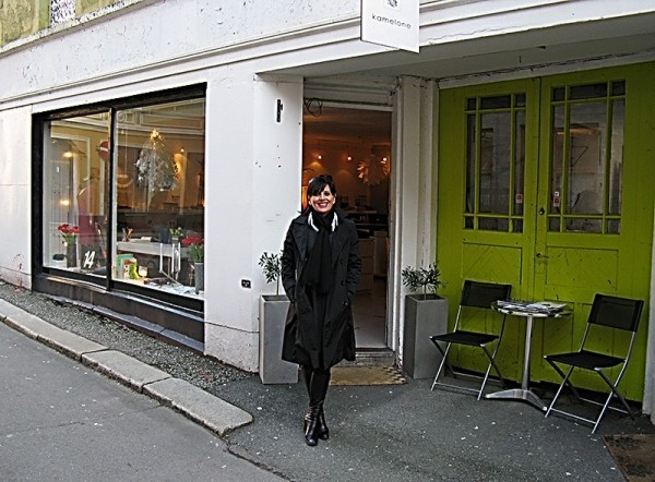 The shop Kamelone in Bergen, Norway