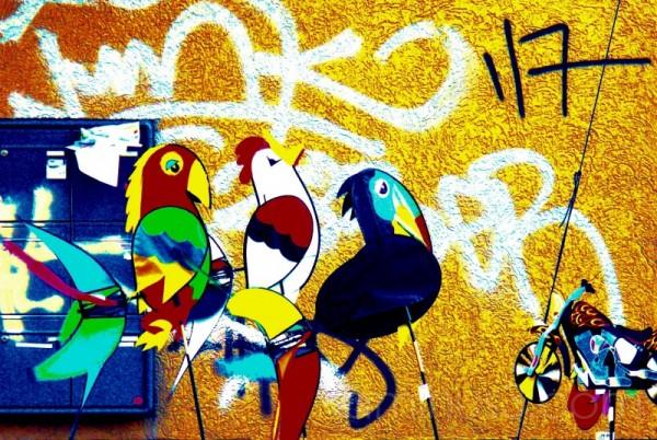 Paaper parrots