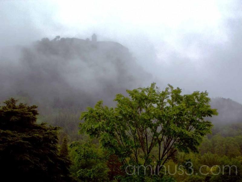 wachtower on mountain near inverary