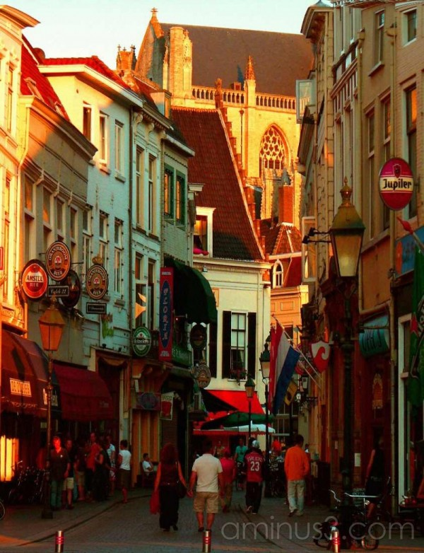 A street in Breda netherlands
