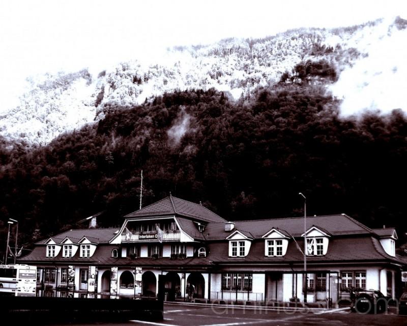 Ticket office for Lake Brienz Ferry Switzerland