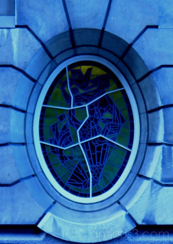 stained glass window Rotterdam 2007