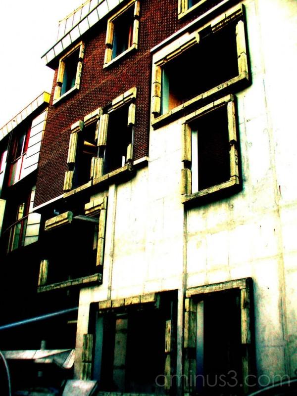old building faced Utrecht