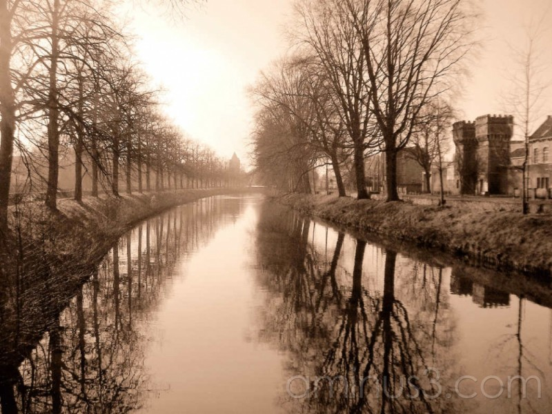 canal in Breda