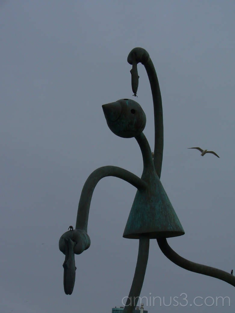 sculpture in Scheveningen