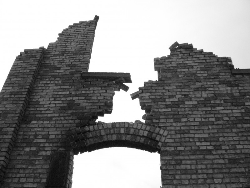 Broken Brick Building Cityscape Amp Urban Photos Qbert S