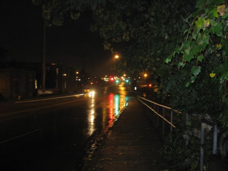 early rainy morning
