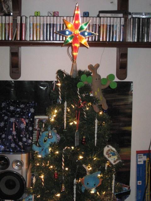 pokemon christmas tree