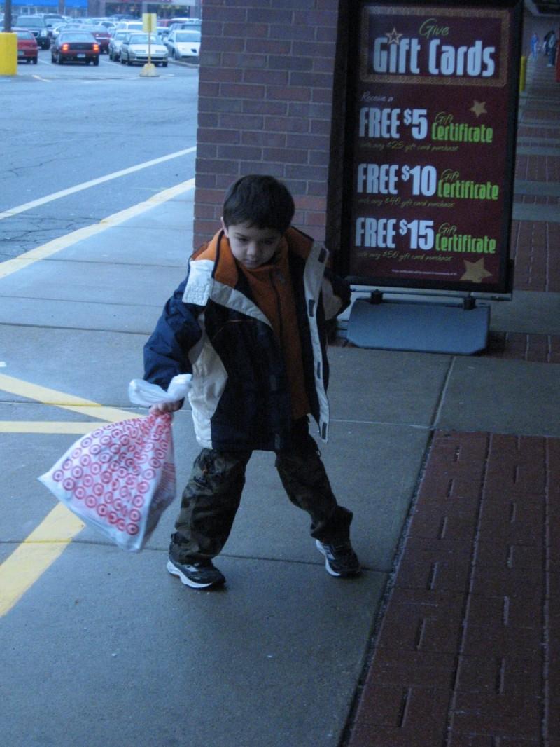 young shopper