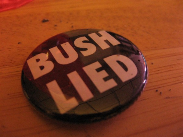 Bush Lied