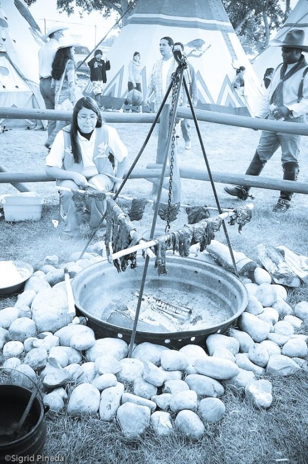 Calgary Stampede Indian Village