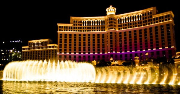 Dancing Fountains of Bellagio