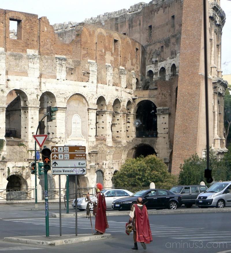 The Colosseum, Rome.