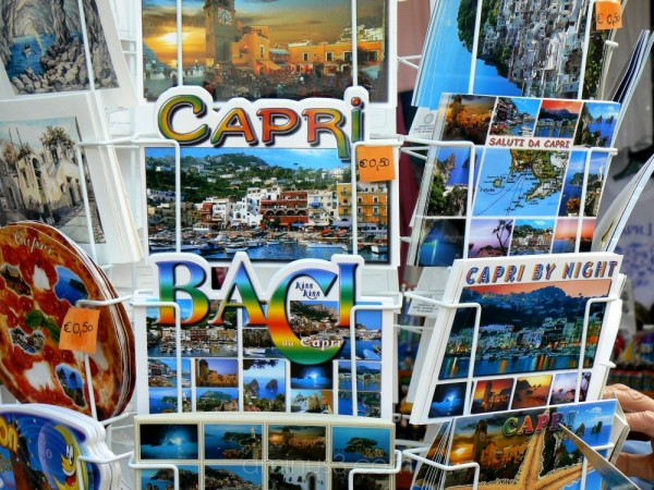A post card from Capri.