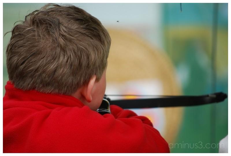 Take aim.