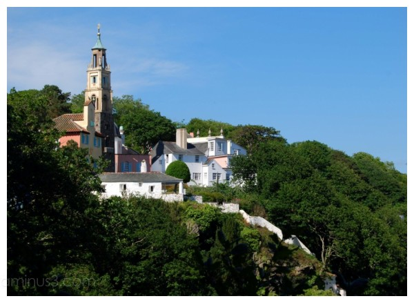 Portmeirion Village, Wales.