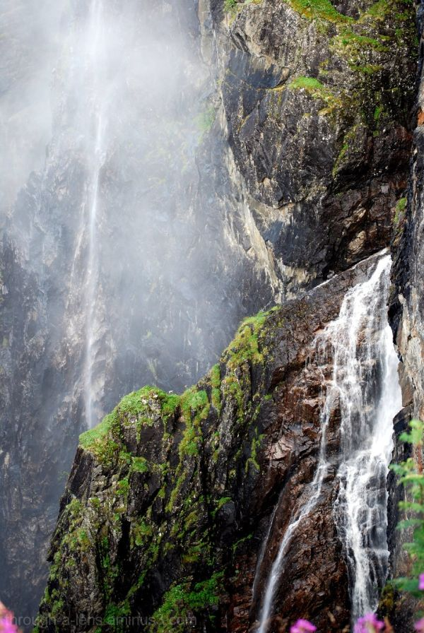 Voringfoss Waterfall