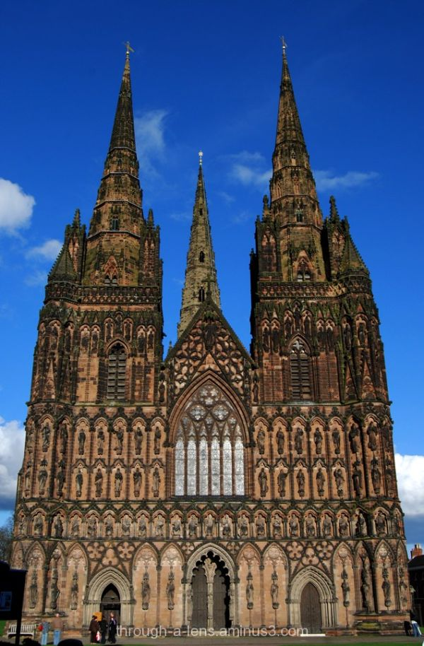 3 Spires of Lichfield Cathedral