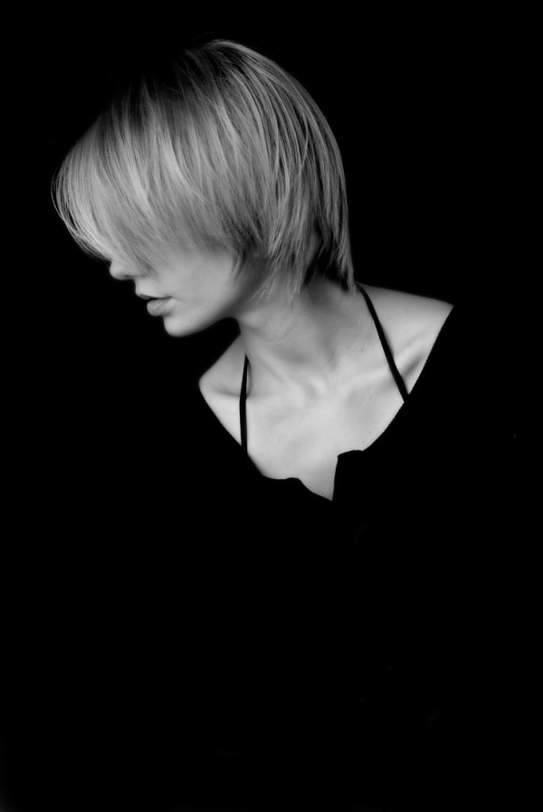 Alex in Black and Bright. Personal portrait. China