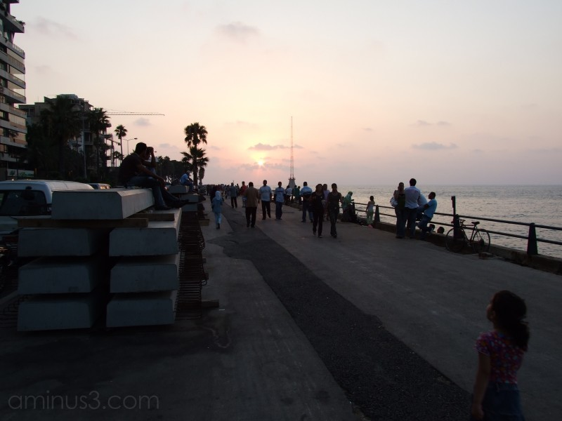 An evening at the Corniche