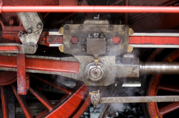 The Old Steam Engine