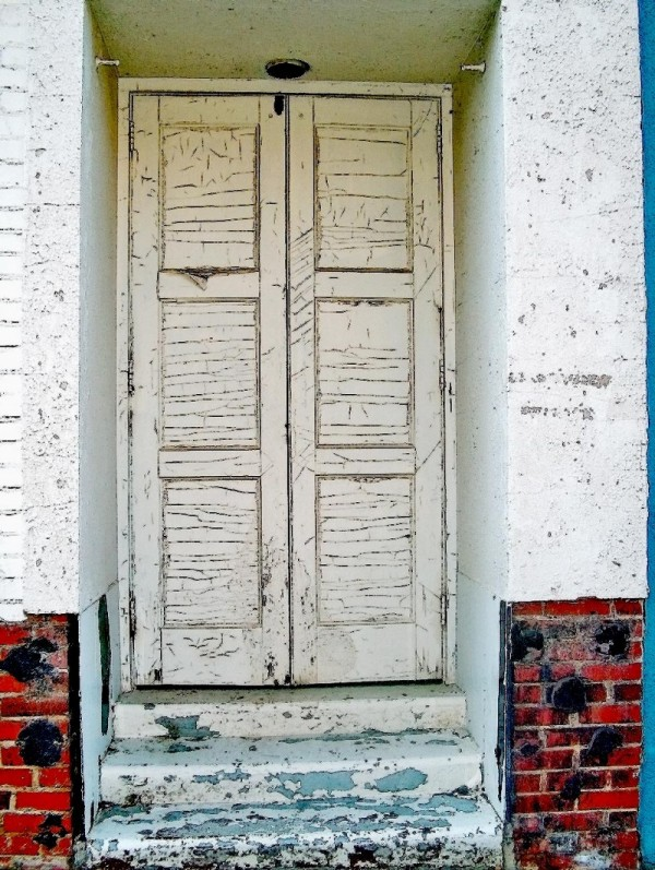 Old door in Hickory, NC