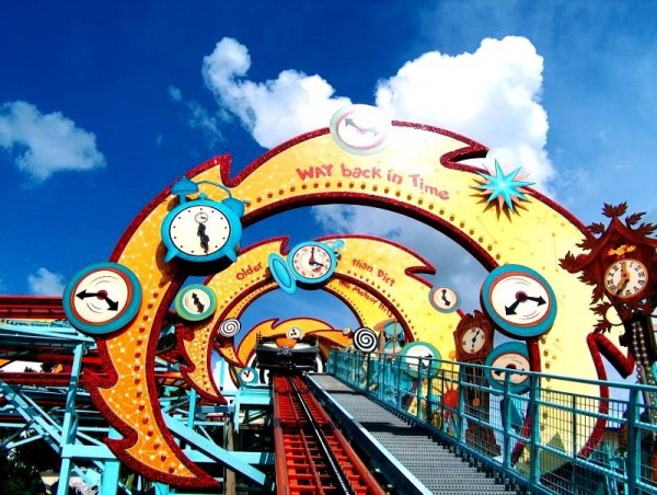 time machine ride at seaworld in florida