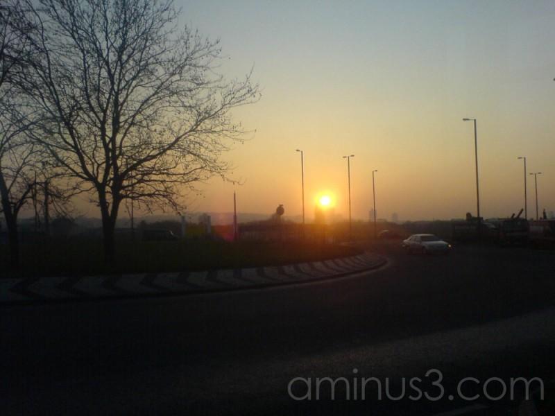 Sun Set # 3