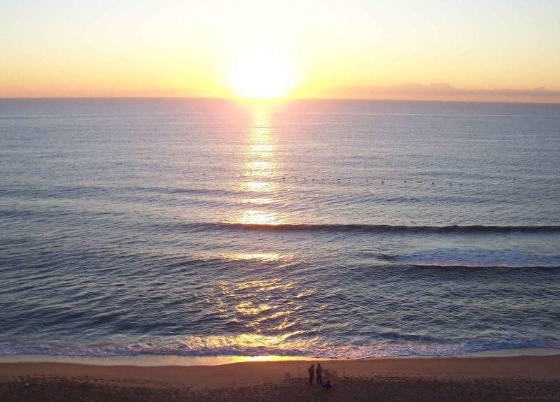 Sunrise at carolina Beach, USA