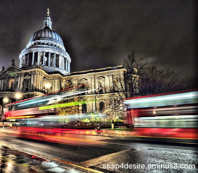 St Pauls Motion Blur