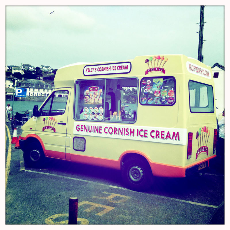 Ice Cream Van Hipstamatic