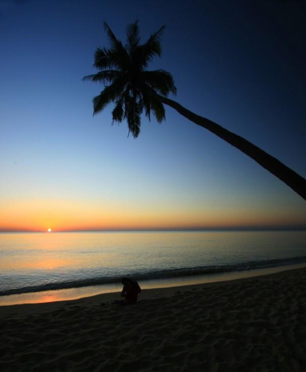 Beach Sunset Vietnam Phu Quoc Paradise