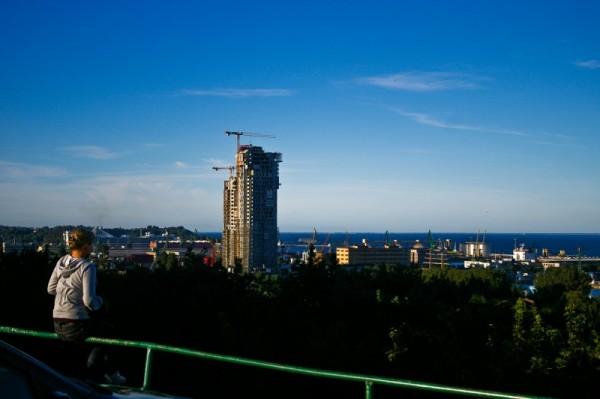 Gdynia port, sightseeing