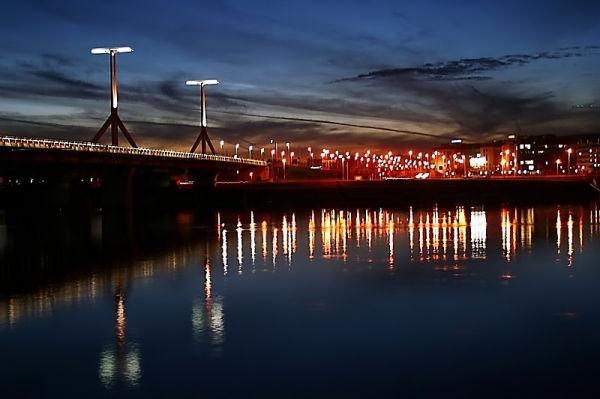 Lágymányosi Bridge & South Buda