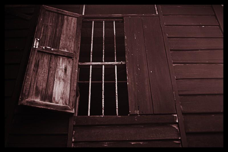 window in village