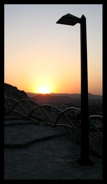 airglow,lighting,mashhad