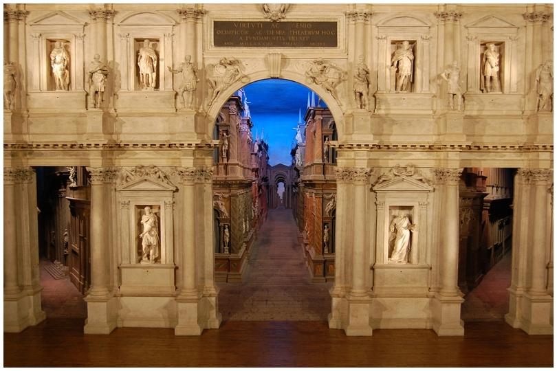 Teatro olimpico - Palladio - Vicenza.
