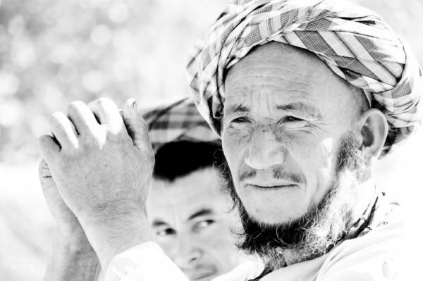 man desert village northern Afghanistan