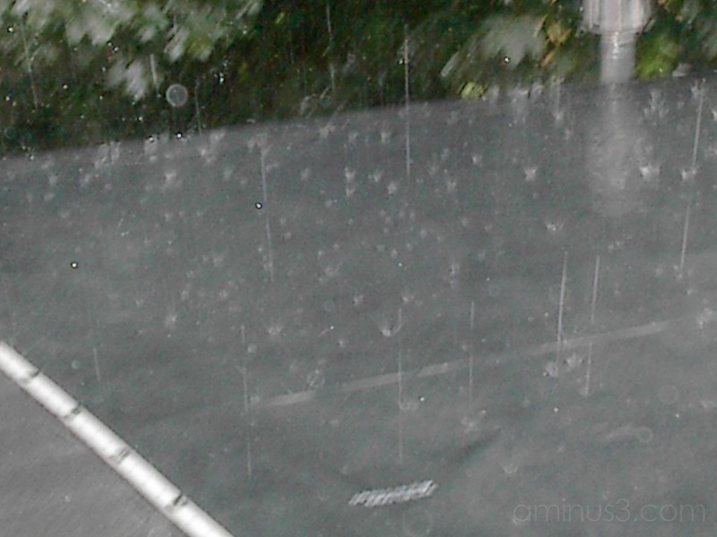 Rain drops keep falling on my head !!!