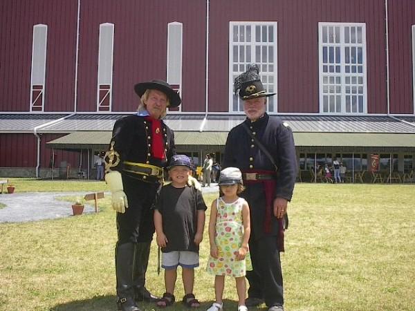 Civil War weekend at Boyds Bears