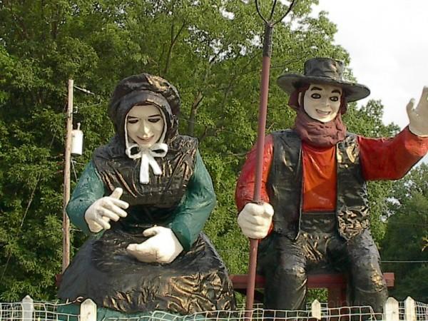 Mr. & Mrs. Roadside America